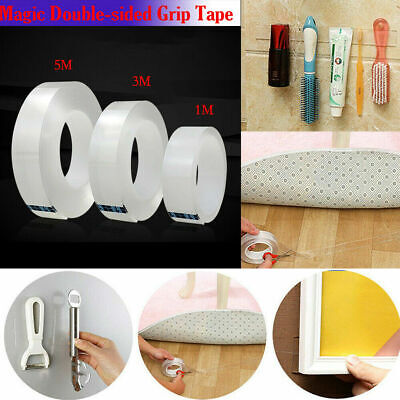 Amazing Magic Double-sided Grip Tape Traceless Adhesive Gel Nano Invisible Tape
