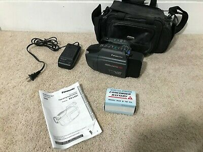 Panasonic PV-L691D VHS-C Analog Camcorder 300x Digital Zoom with accessories
