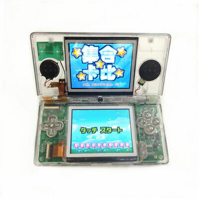 Clear White Refurbished Nintendo DS Lite Game Console NDSL Video Game System QH