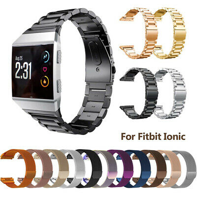 New For Fitbit Ionic Milanese Metal Stainless Steel Watch Strap Band Replacement