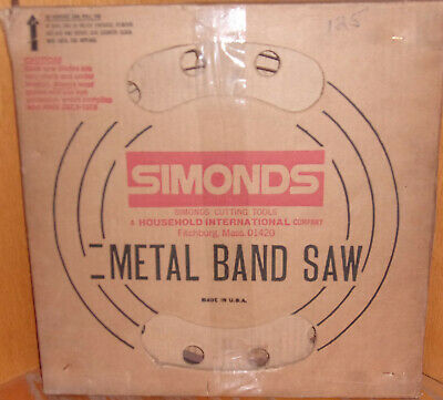 Simonds Bandsaw Blade Coil/Roll/Stock 3/4 x 18tpi x 125' x .032