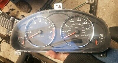 Mazda 6 mk1 clocks speedo instrument cluster jp gj8rc