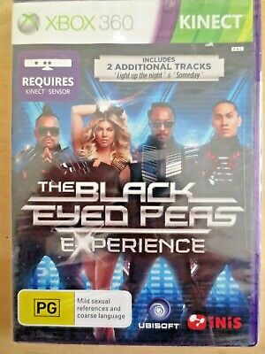 Xbox 360 Kinect Video Game The Black Eyed Peas Experience New Sealed