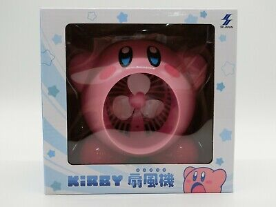 Kirby of the Stars USB type Tabletop Fan JAPAN