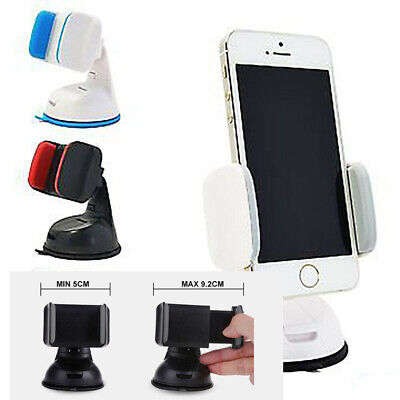 Universal Car Holder Stand Mount Windshield Bracket For Mobile Cell Phone 360° +