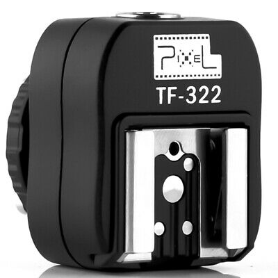 Pixel TF-322 I-TTL Flash Hot Shoe Converter Adapter with PC Sync Port for Nikon