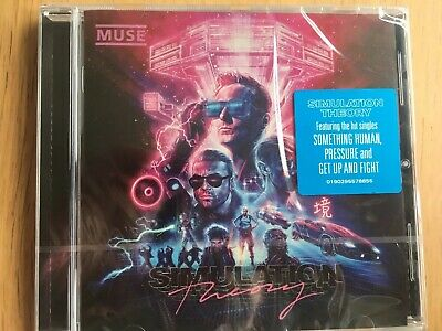Muse Cd Simulation Theory Brand New Sealed And Unused