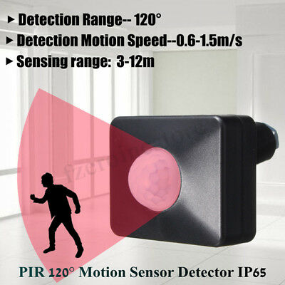 LED 220V 140° 100W Infrared PIR Motion Sensor Detector Outdoor Wall Light  !