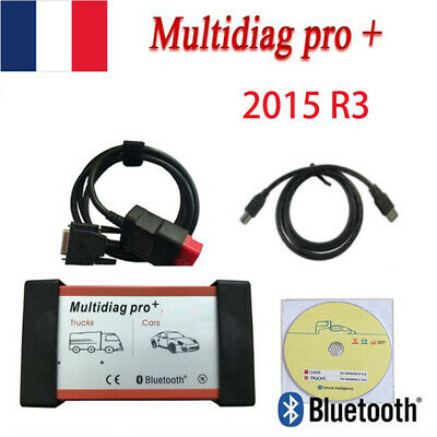 Multidiag Pro+ with Bluetooth 2015R3 TCS CDP OBD2 Car Diagnostic Scanner Tool FR