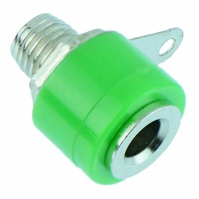 Green 4mm Insulated Test Socket Connector