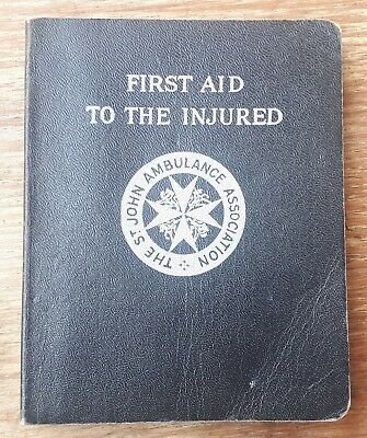1957 St John Ambulance First Aid Book – Medical, Collectable, Pharmaceutical