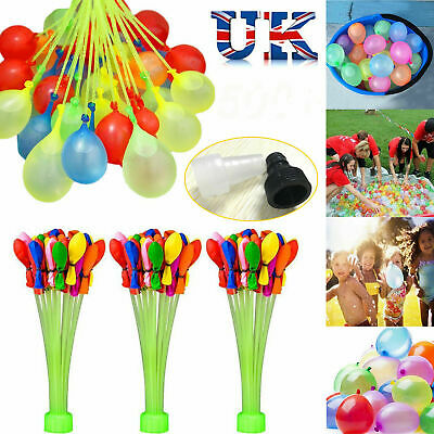 111-1110 PCS Fast Fill Magic Water Balloons Kids Summer Party Fun Toys Party B1