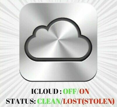 Check iCloud Status Clean/Lost Mode and FMI Check On/Off Fast !!! serial or imei