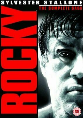 Rocky: The Complete Saga Dvd Sylvester Stallone Brand New & Factory Sealed