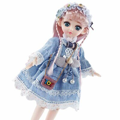 Play House Toy Set Girl Dress Up Toy 32Cm Telling Story Singing Joint Movable D