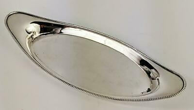 GEORGE III OLD SHEFFIELD PLATE CANDLE SNUFFER TRAY c1800