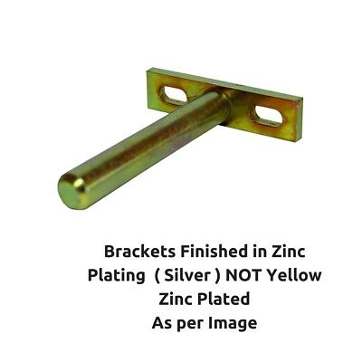 Individual Hidden Concealed Floating Shelf Support Brackets Screw Plate 80mm