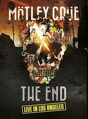 Motley Crue - The End: Live In Los Angeles [Dvd] 2J - New & Sealed