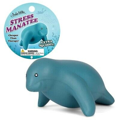 Stress Manatee Stress Reliever Squeeze Relief