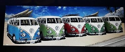 VW California Campers Mini Poster 50cm x 40cm new and sealed