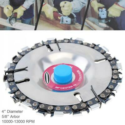 Angle Grinder Saw Blade Disc Tooth Chain Saw Carving Wood Disc 4 Inch 22 Tooth