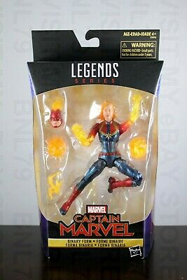 CAPTAIN MARVEL Legends BINARY FORM 2019 avengers endgame WAL-MART EXCLUSIVE