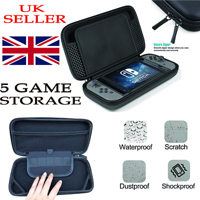 For Nintendo Switch Case Hard Cover Travel Protective Console Game Carry Bag