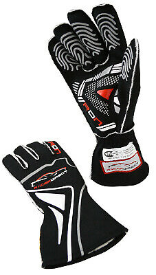 Scca Racerdirect Reverse Stitch Driving Auto Racing Gloves Sfi 3.3/5 Adult Small