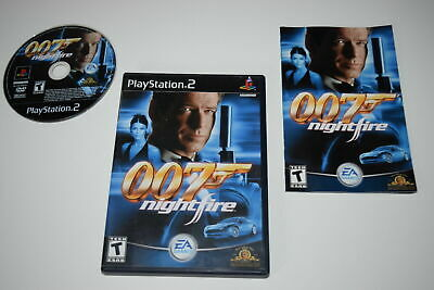 007 Nightfire Playstation 2 PS2 Complete CIB VERY Fast Shipping Worldwide!!!