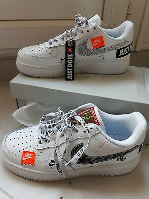NIKE AIR FORCE 1 Just Do It T38 EUR 82,50 | PicClick FR
