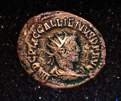 GALLIENUS  254 AD      Crushed by father's brutal DEATH!          ROMAN COINS