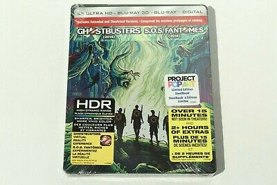 Ghostbusters 2016 (4K Ultra HD + Blu-ray 3D + Blu-ray + Digital Copy) Steelbook