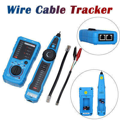 Handheld Wire Line Finder Tester LAN Ethernet Network Cable Tracker Tracer RJ11