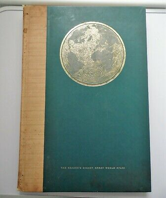 Vintage  Edition Of The Great World Atlas By The Reader's Digest Hardback Book
