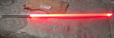 """Ultrasabers Arbiter Lightsaber With Sound, 36"""" Ultra Edge Blade, Blazing Red"""