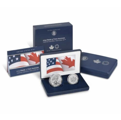 Pride of Two Nations 2019 Limited Edition 2 Coin Set - MINT SOLD OUT