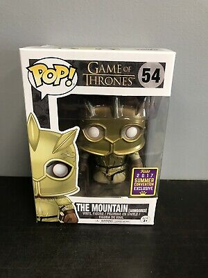 Funko Pop! Game Of Thrones: The Mountain Armoured 2017 SDCC With Protector