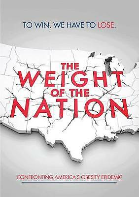 The Weight of the Nation (DVD, 2012, 3-Disc Set) - ex library copy