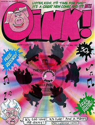 Oink! comics 68 issues plus extras on disc