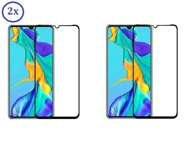 2x Huawei P30 / P30 Lite / P30 Pro - 3D Full Cover Curved Panzerfolie Schutzglas