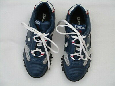 Navy and White Women's Girls  Hockey Shoes. UK Size 5 EUR 38 Used Once  Dita