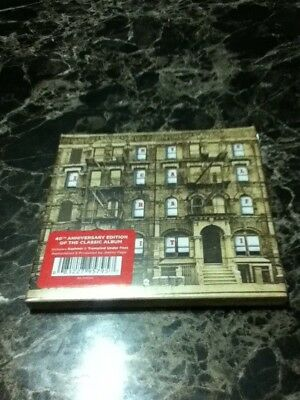 led zeppelin physical graffiti 40th anniversy digipac cd factory sealed rock