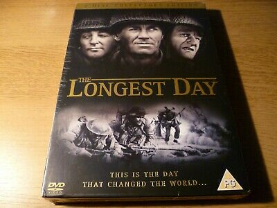 The Longest Day DVD New/Sealed 2 Disc Collectors Edition