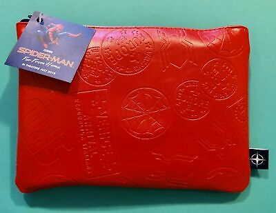 United Airlines Limited Edition Sealed SPIDER MAN BizClass AMENITY KIT Pouch RED