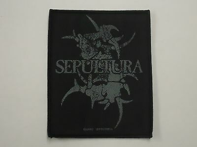 Sepultura Tribal Woven Patch