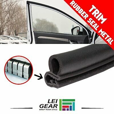 20ft Autos Rubber Seal (Black) Strip Molding Trim Door Sill Decorate Waterproof