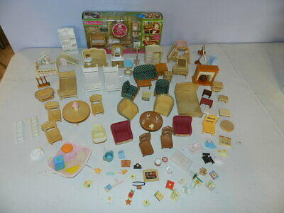 Lot Epoch Calico Critters Sylvanian Families Furniture Accessories