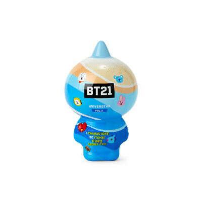 BT21 X Line Friends - Collectible Figure Blind Pack Vol.2 (Summer Vacation)