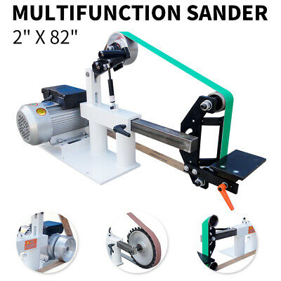 "2"" x 82"" Knife Belt Grinder With 2 HP Motor 3 in 1 Multifunction Sander"