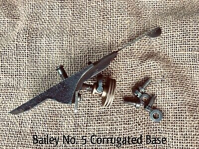 BAILEY STANLEY No 5 C FROG Part of a Wood Working Plane Corrugated Bottom Tool